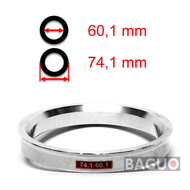 Bague de centrage en aluminium 74,1 - 60,1 mm ( 74.1 - 60.1 )